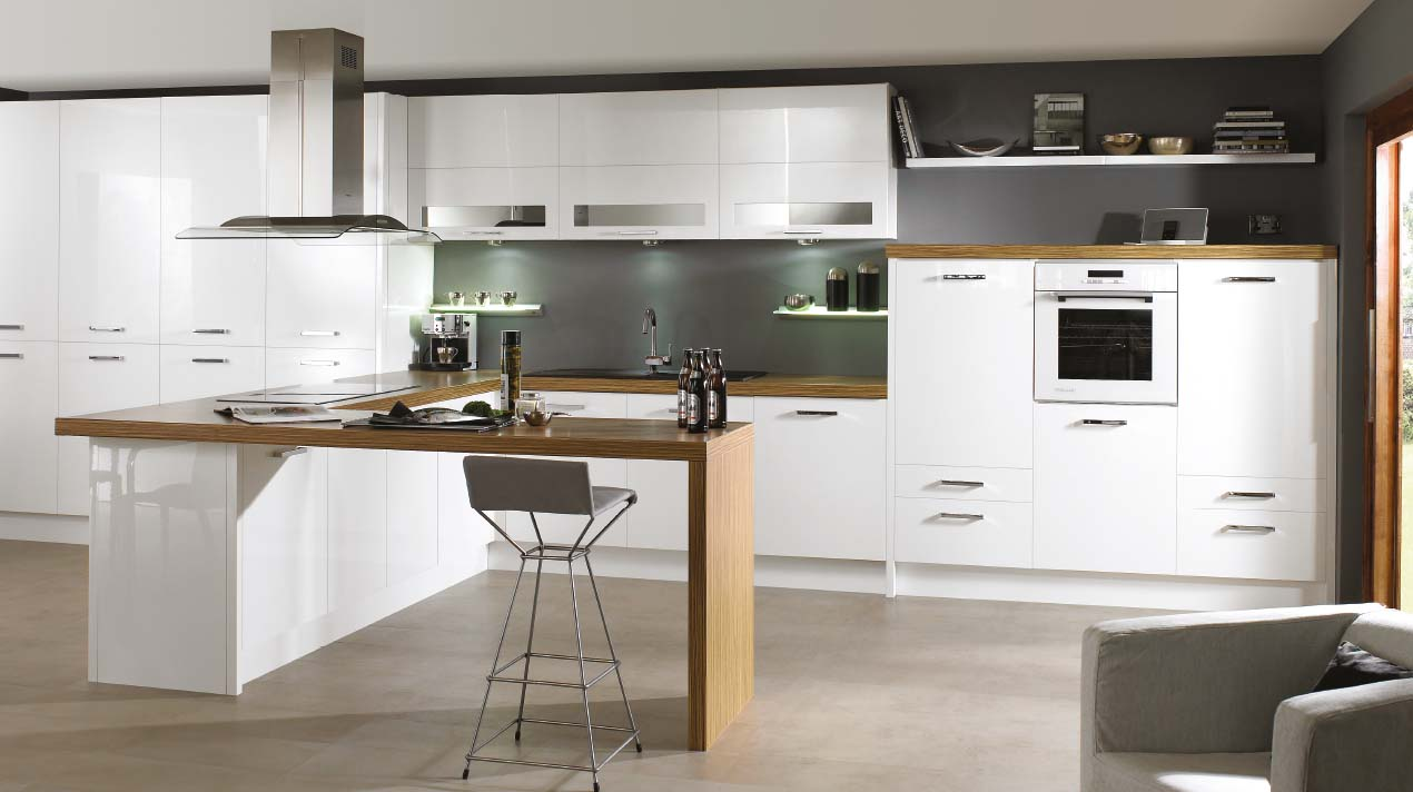Lucente – Ivory & White – Stratford Kitchens, Bathrooms & Bedrooms