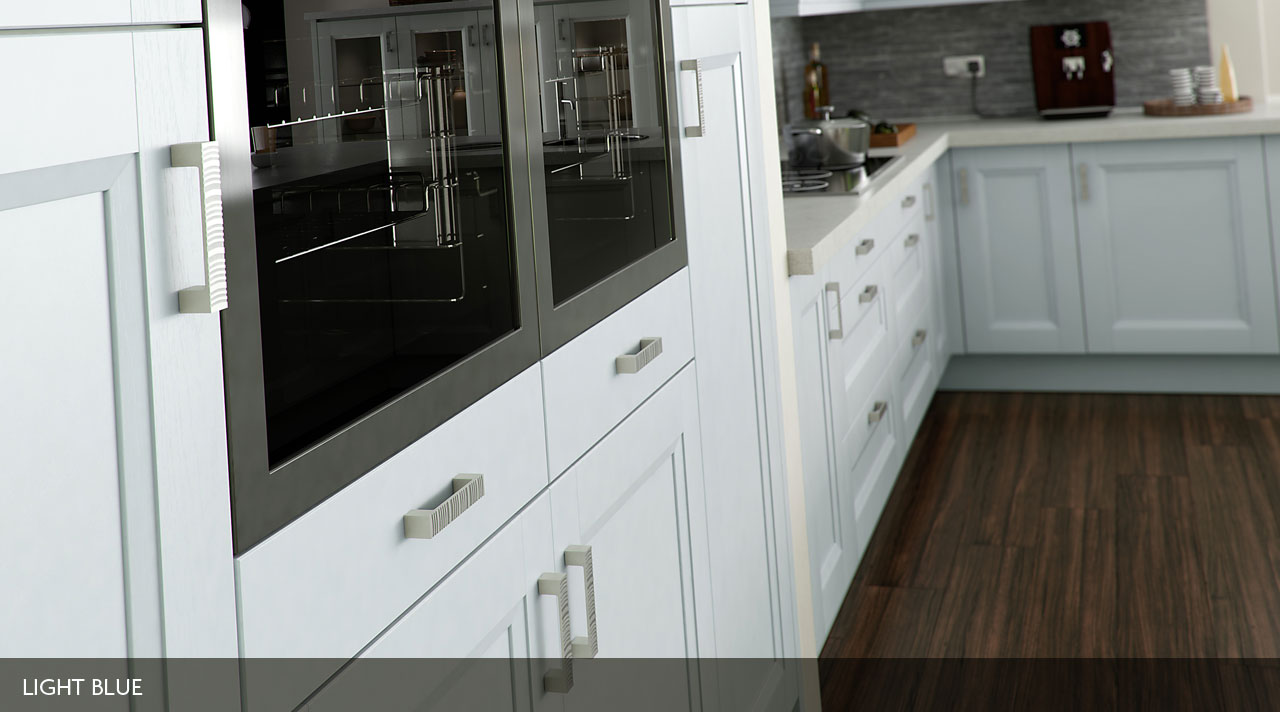 Chamfered Shaker Painted – Stratford Kitchens, Bathrooms & Bedrooms