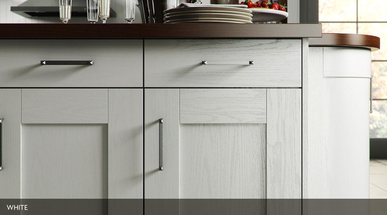 Painted Wood Shaker – Stratford Kitchens, Bathrooms & Bedrooms
